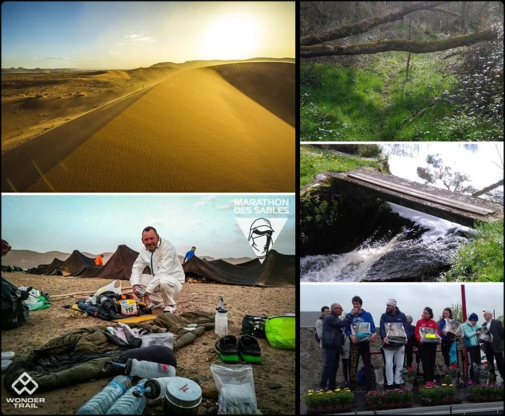 MDS et trail du granit 2018